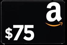 $75 Amazon Gift Card AMZGC75