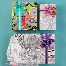 Color Your Own Wrapping Paper 3201
