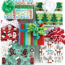Holiday Flat Wrap 7138