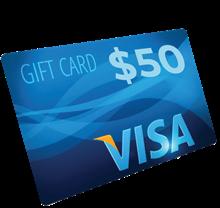 $50 Visa Gift Card AP09B