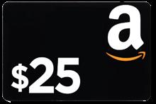 $25 Amazon Gift Card AMZGC25