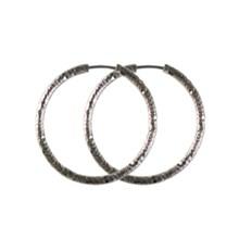 Textured Hoop Earrings 2742