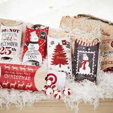 Holiday Pillow Boxes 7160