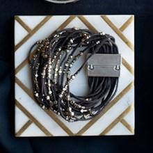 Beaded Layer Wrap Bracelet 2841