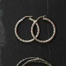 Spiral Hoop Earrings 2737